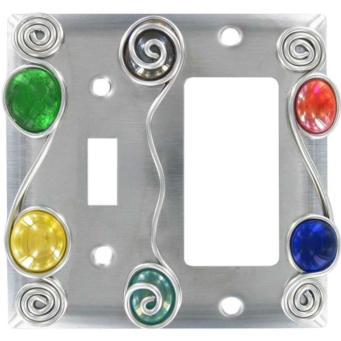 Wired Combination 1 Toggle / Rocker GFCI Switch Covers