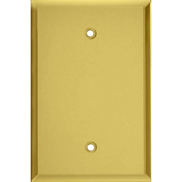 Glass Mirror Yellow Blank Wall Plate Cover