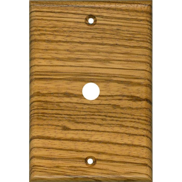 Zebrawood Satin Lacquer Coax Cable TV Wall Plates