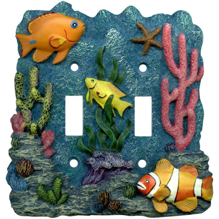 Tropical Fish Aquarium - Double Toggle