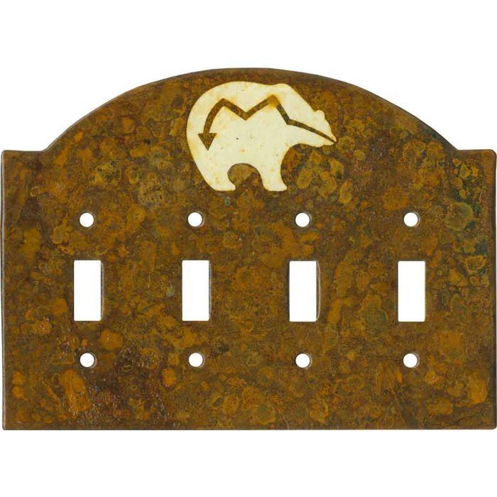Zuni Bear - 4 Quad Toggle