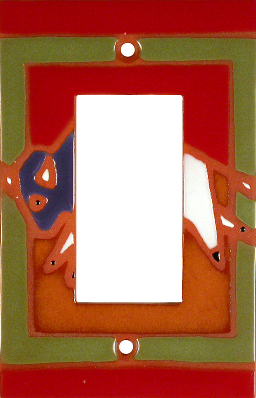Frolic Buffalo - GFCI Rocker Switch Plate Covers