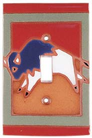 Frolic Buffalo Single 1 Toggle Light Switch Plates