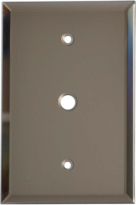 Glass Mirror Bronze Tint - Cable Wall Plates