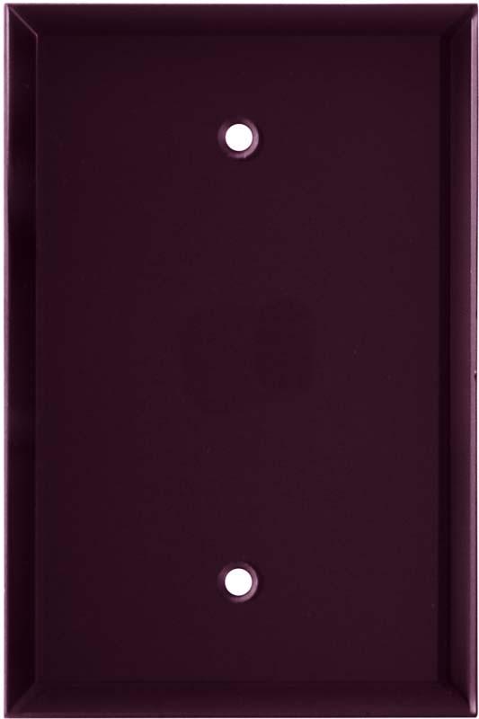 Glass Mirror Purple - Blank Wall Plates