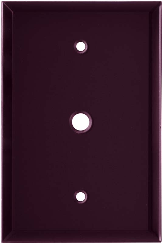 Glass Mirror Purple - Cable Wall Plates