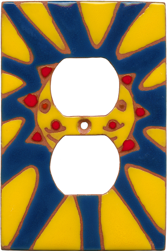 Happy Sun 1 Gang Duplex Outlet Cover Wall Plate