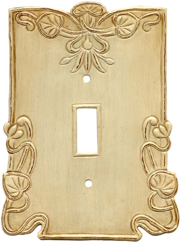 Lily Pads1 Toggle Light Switch Cover