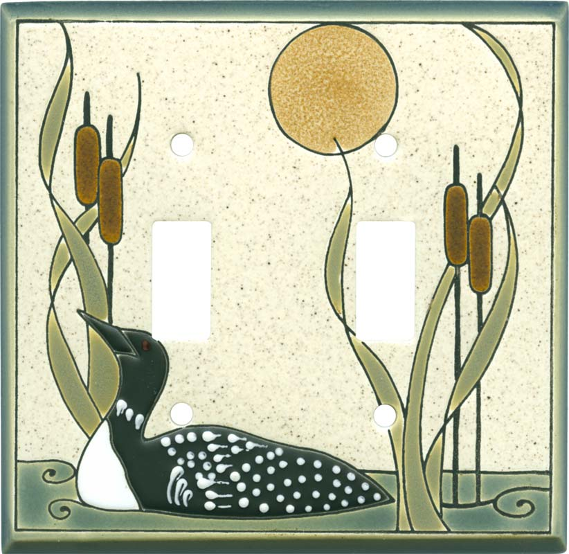 Loon Sand Ceramic Switch Plates Wall Plates Outlet Covers Ebay