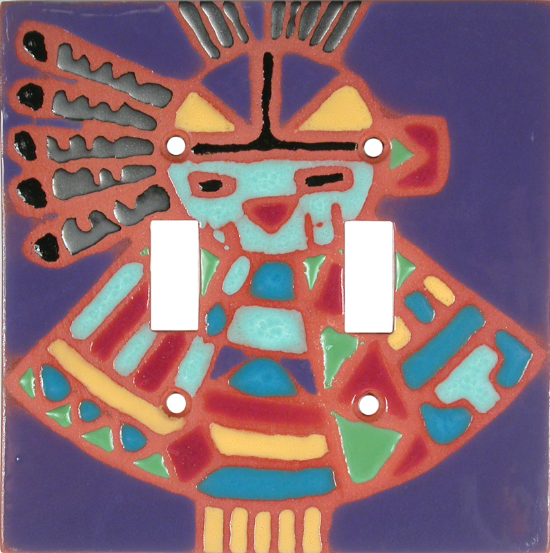 MedIcine Man - 2 Toggle Switch Plate Covers