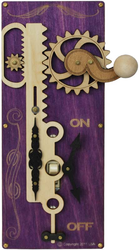 Rack And Pinion Purple Light Switch Covers Outlet Covers