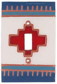 Red Compasse Single 1 Toggle Light Switch Plates