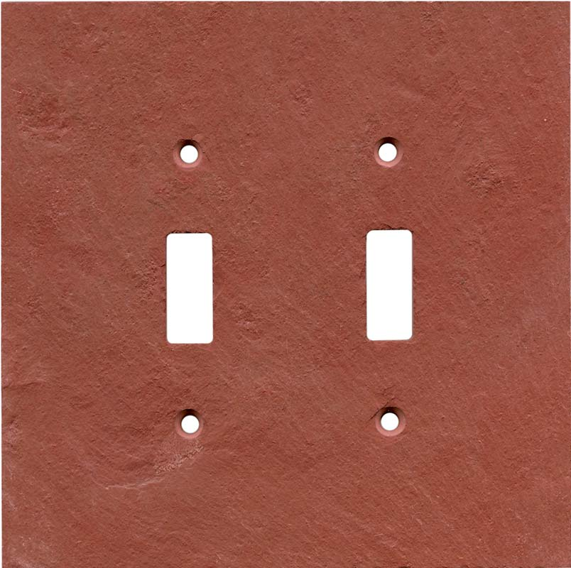 Details About Red Slate Switch Plates Wall Outlet Covers