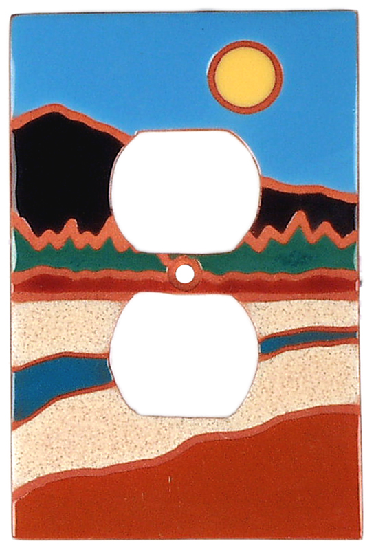 Sunny River 1 Gang Duplex Outlet Cover Wall Plate
