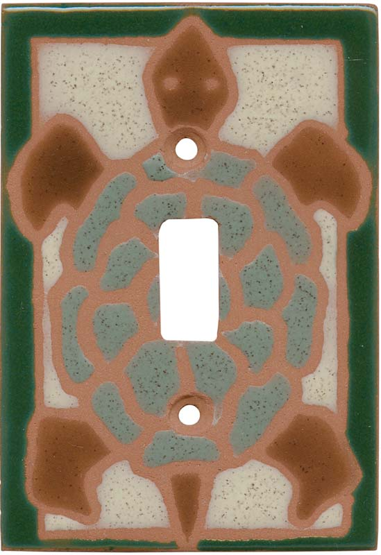 Turtle Green1 Toggle Light Switch Cover