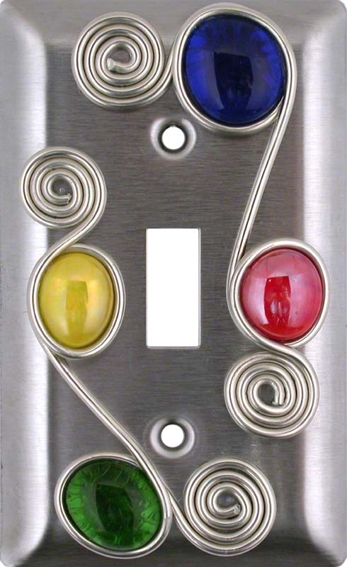 Wired Single 1 Toggle Light Switch Plates