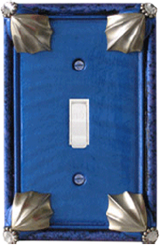 Cleo Lapis Periwinkle light switch plates