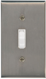 Satin Nickel Light Switchplates